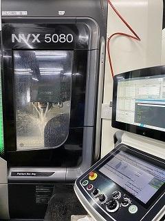 DMGMORI NVX5080立型 マシニングセンタ