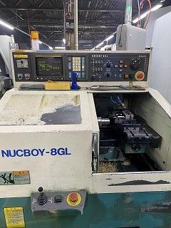 EGURO NUCBOY-8GL NC櫛刃型旋盤