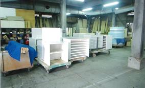 大型の什器・陳列家具の製作が可能