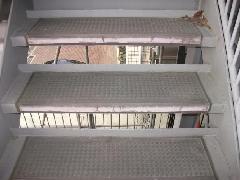 外部鉄骨階段長尺シート