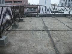屋上防水工事通気緩衝工法
