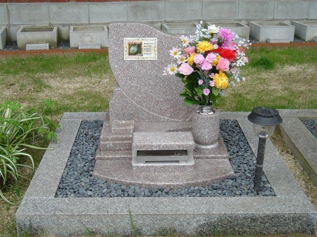 ベース1000×1000サイズ  特注墓地施工例