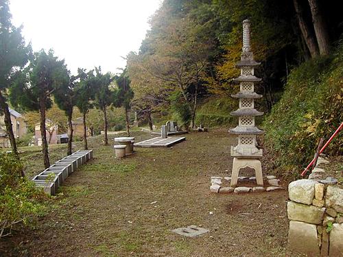 個別墓地全景