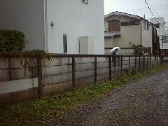 東京 八王子市 万年塀改修工事