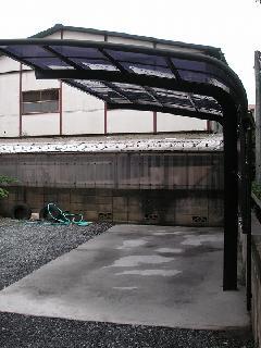 東京 八王子市 カーポート工事
