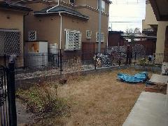 東京 八王子市 ウッドフェンス工事