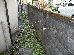 東京 八王子市 ブロック塀撤去及びフェンス新設工事