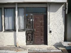 東京 八王子市 玄関ドアから片引戸交換工事