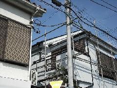 東京 国立市 テラス工事(2階ベランダ)