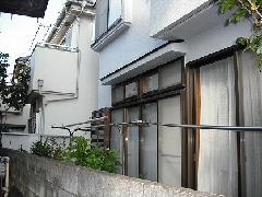 東京 国立市 テラス(屋根)工事