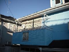 東京 八王子市 テラス屋根設置工事