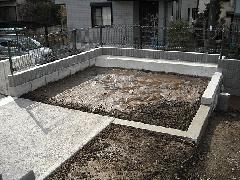 東京 八王子市 芝生張り工事
