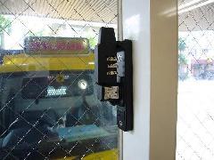 ダイヤル錠付防犯窓鍵