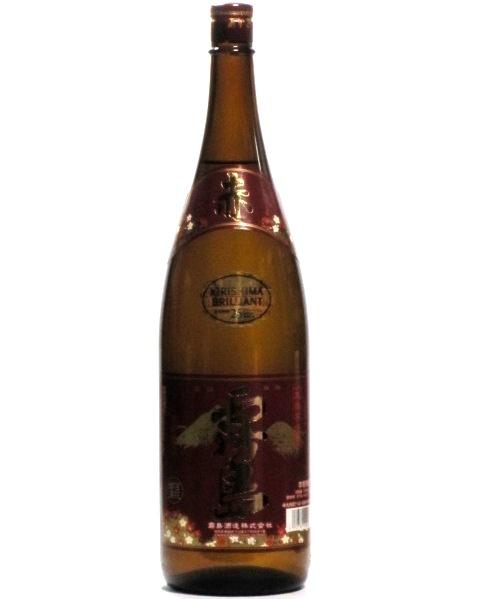 赤霧島 霧島酒造 紫芋焼酎 25度 1800ml (1.8L)