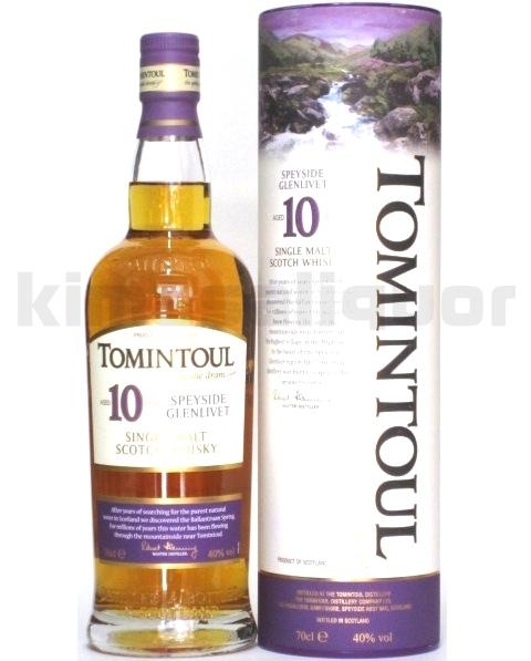 トミントール 10年 40度 700ml