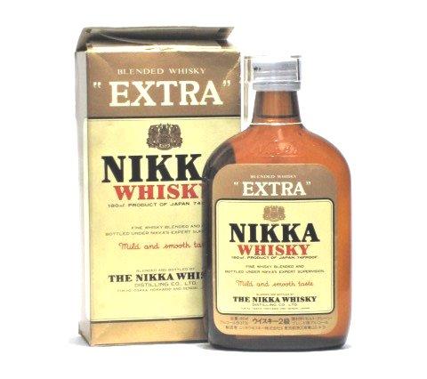 [古酒] ニッカウイスキー エクストラ ポケット瓶 2級 37度 180ml