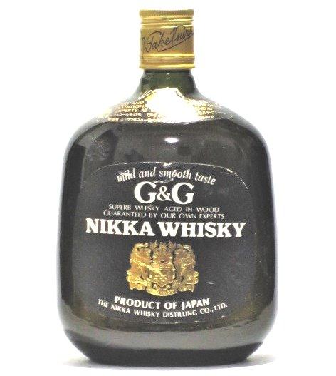 [古酒] ニッカ ウイスキー G&G 黒瓶 43度 750ml