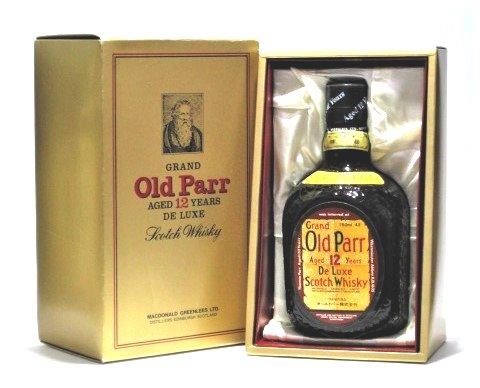 [古酒] [化粧箱付き] オールドパー 12年 デラックス 正規品 特級表示 43度 750ml