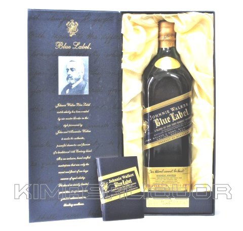 [古酒] [1Lサイズ] ジョニーウォーカー ブルーラベル 化粧箱付き 43度 1000ml (1L)