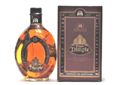 [古酒] ディンプル 15年 箱付き 43度 750ml