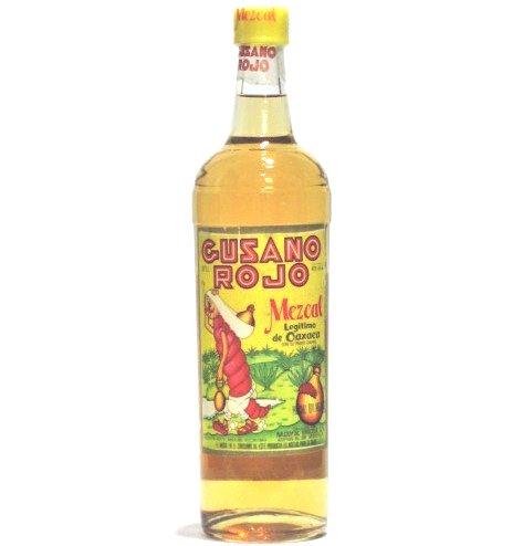 [古酒] メスカル グサーノ ロホ(ワーム入り) テキーラ 正規品 38度 750ml