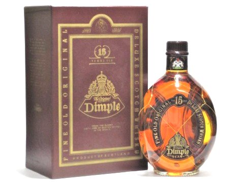 [古酒] ディンプル 15年 正規品 箱付き 43度 750ml