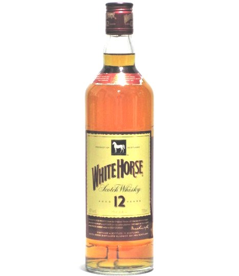 [古酒] ホワイトホース 12年 正規品 40度 700ml ※ラベル破れあり