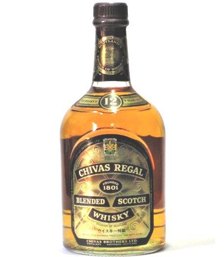 [古酒] シーバスリーガル 12年 正規品 特級表示 43度 750ml