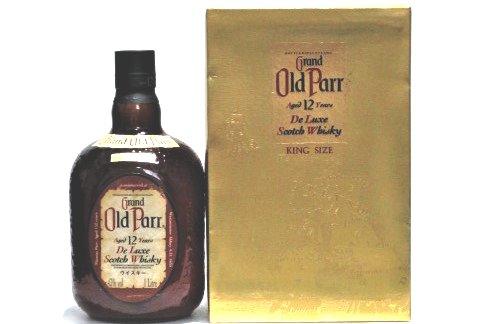 [古酒] オールドパー 12年 正規品 43度 1000ml (1L)