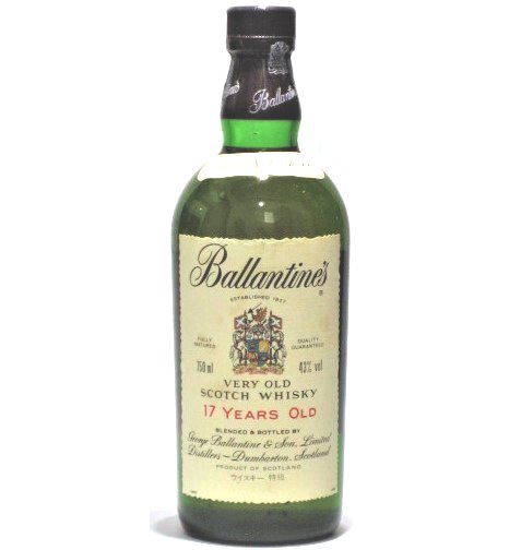 [古酒] バランタイン 17年 特級表示 正規品 43度 750ml