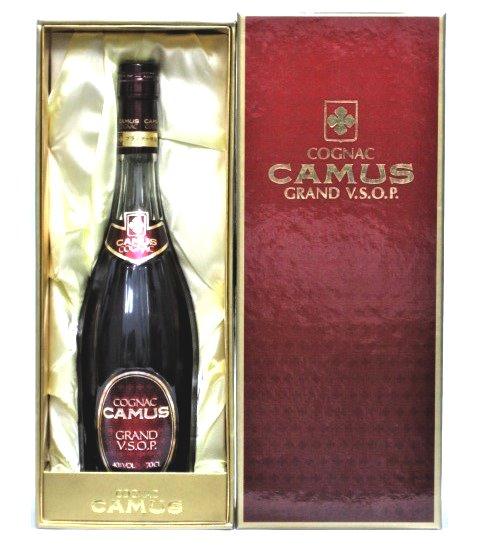 [古酒] カミュ グランド VSOP 特級表示 正規品 箱付き 40度 700ml