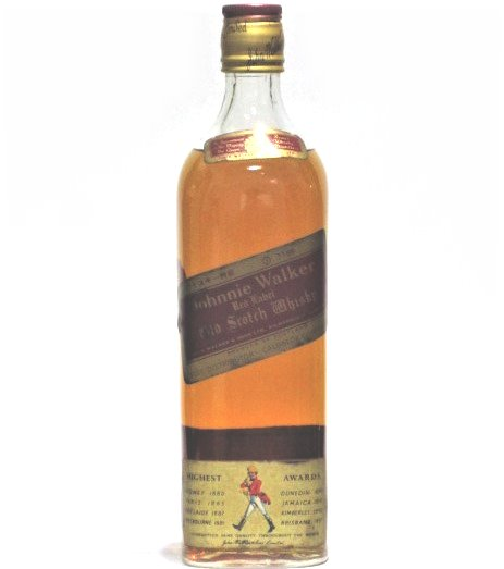 [古酒] ジョニーウォーカー レッドラベル 特級表示 正規品 43度 760ml