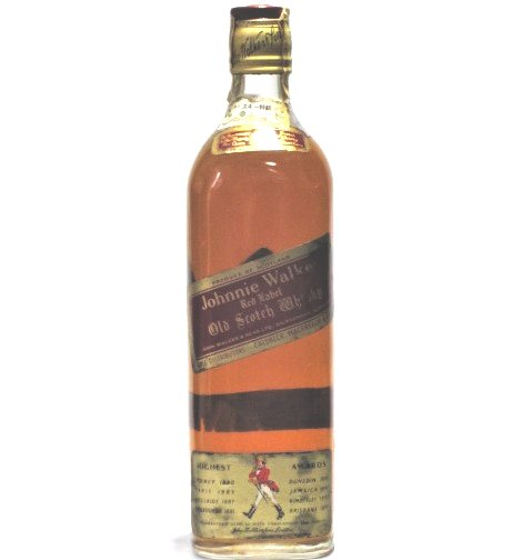 [古酒] ジョニーウォーカー レッドラベル 特級表示 43度 760ml