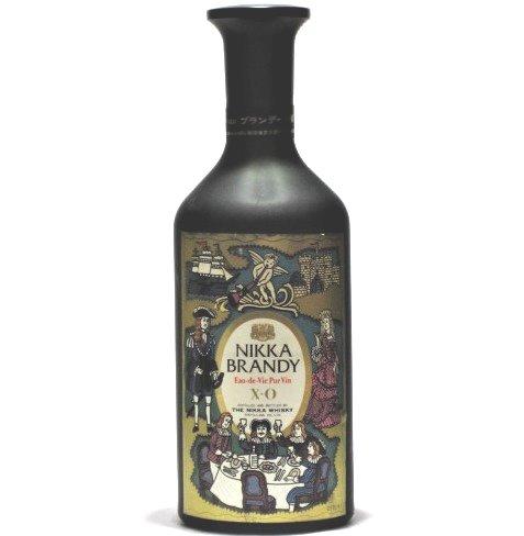 [古酒] ニッカブランデー XO 黒陶器 特級表示 40度 720ml