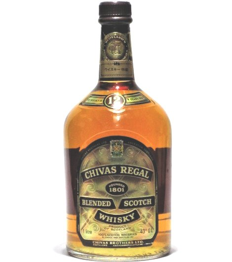 [古酒] シーバスリーガル 12年 特級表示 正規品 40度 1000ml (1L)