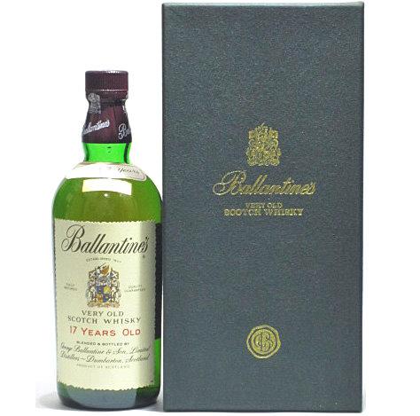 [古酒] バランタイン 17年 特級表示 正規品 箱付き 43度 750ml