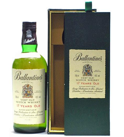 [古酒] バランタイン 17年 正規品 43度 750ml