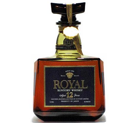 [古酒] サントリーウイスキー ローヤル プレミアム12年 43度 720ml