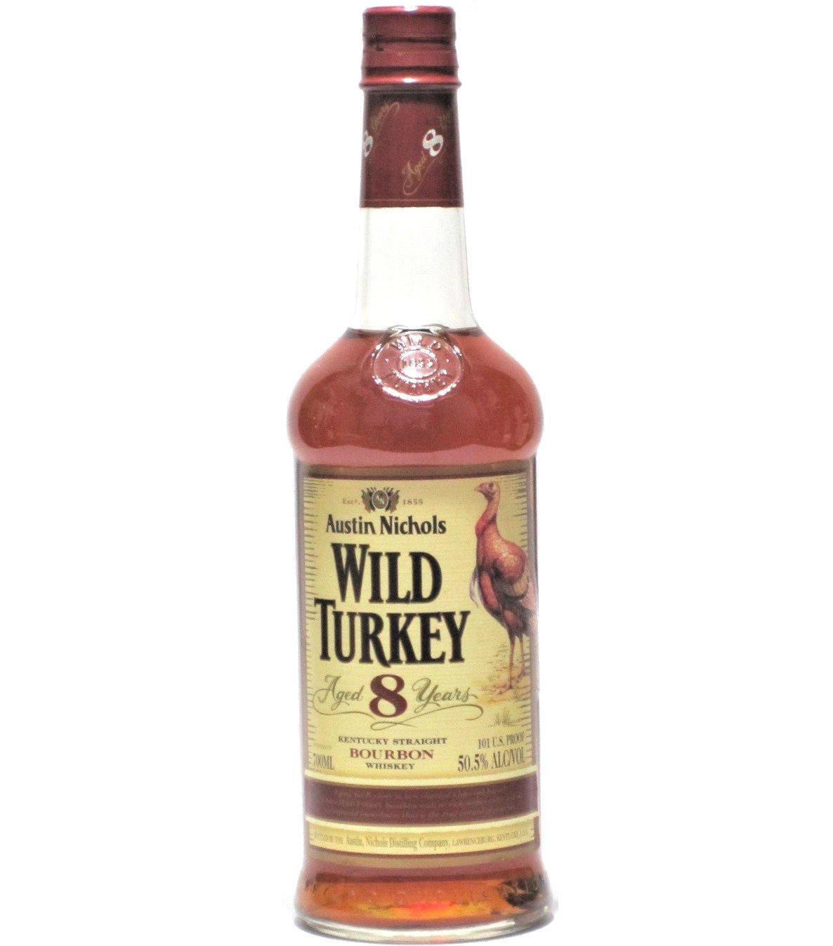 [古酒] ワイルドターキー 8年 正規品 50.5度 700ml