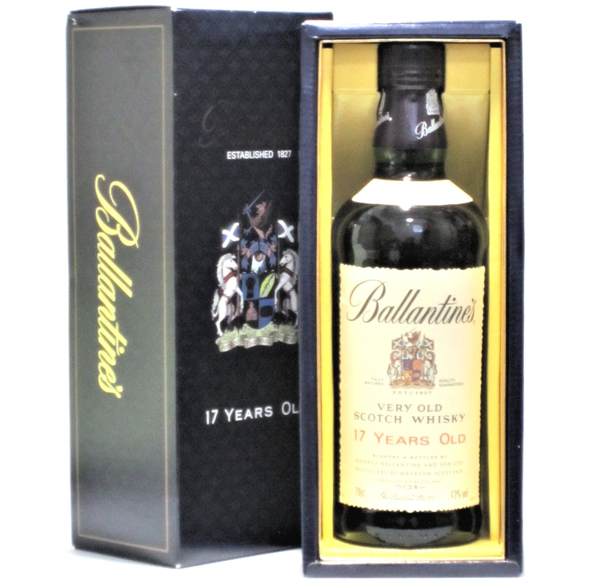 [古酒] バランタイン 17年 正規品 箱付き 43度 700ml