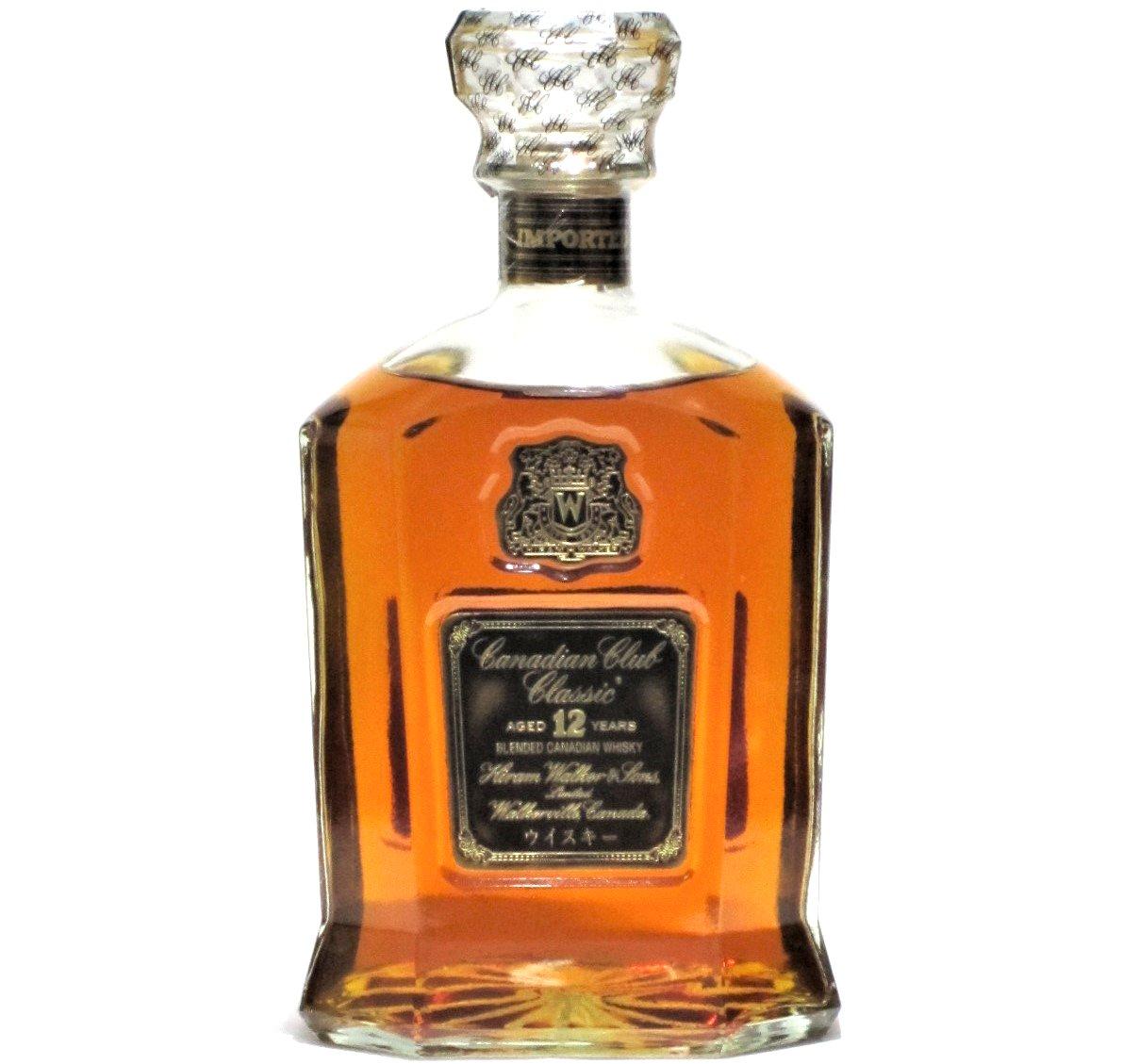 [古酒] カナディアンクラブ クラシック 12年 正規品 40度 750ml