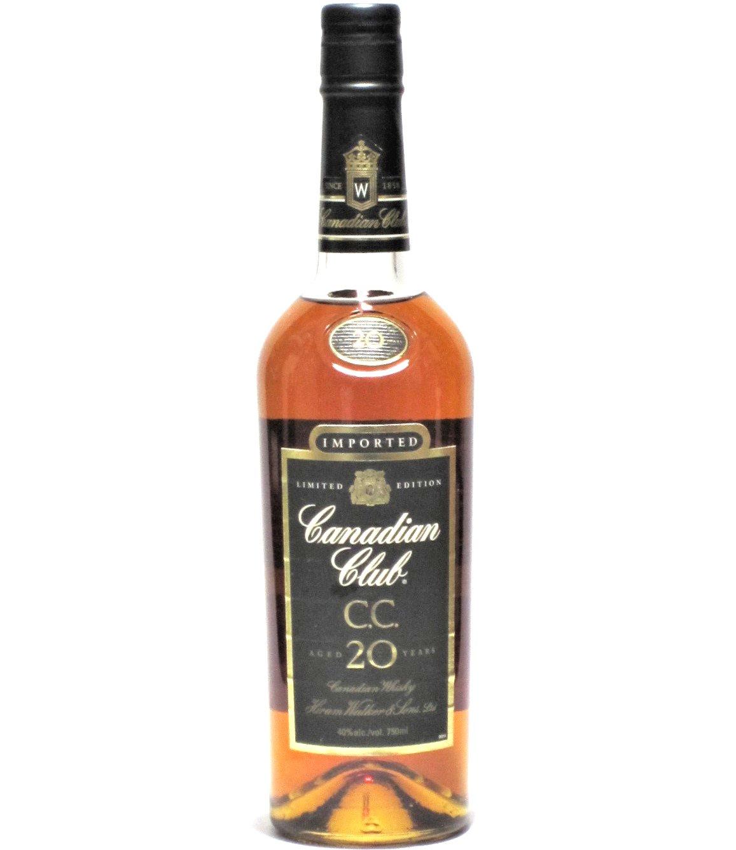 [古酒] カナディアンクラブ 20年 正規品 40度 750ml