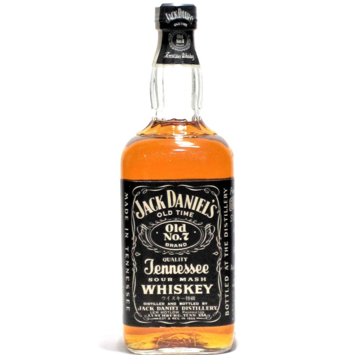 [古酒] ジャックダニエル ブラック 正規品 特級表示 45度 750ml