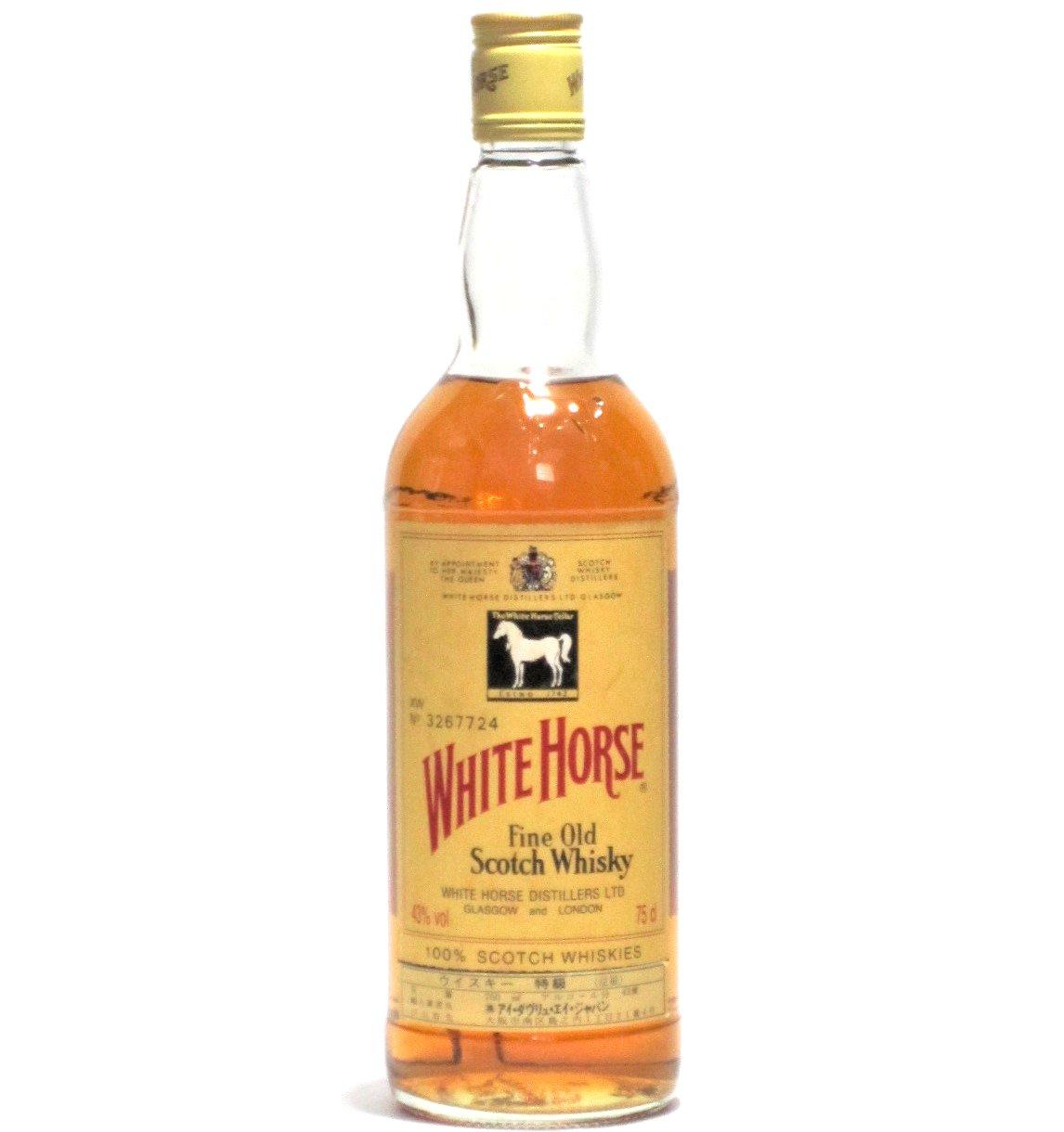 [古酒] ホワイトホース ファインオールド 特級表示 43度 750ml