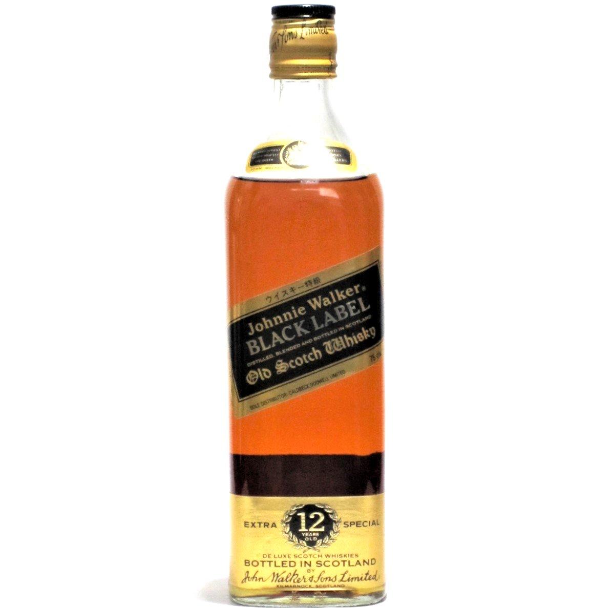 [古酒] ジョニーウォーカー ブラックラベル 特級表示 正規品 43度 750ml