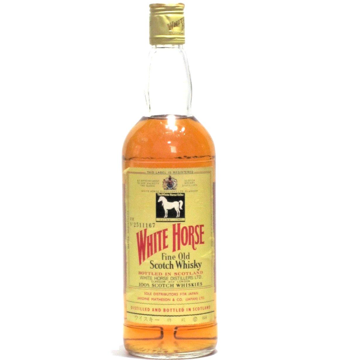 [古酒] ホワイトホース ファインオールド 特級表示 正規品 43度 760ml