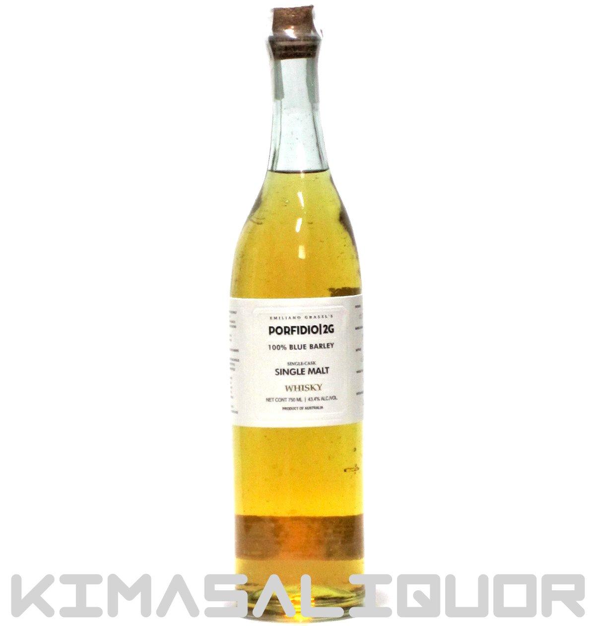 [セール品] ポルフィディオ 2G ウイスキー 43.4度 750ml