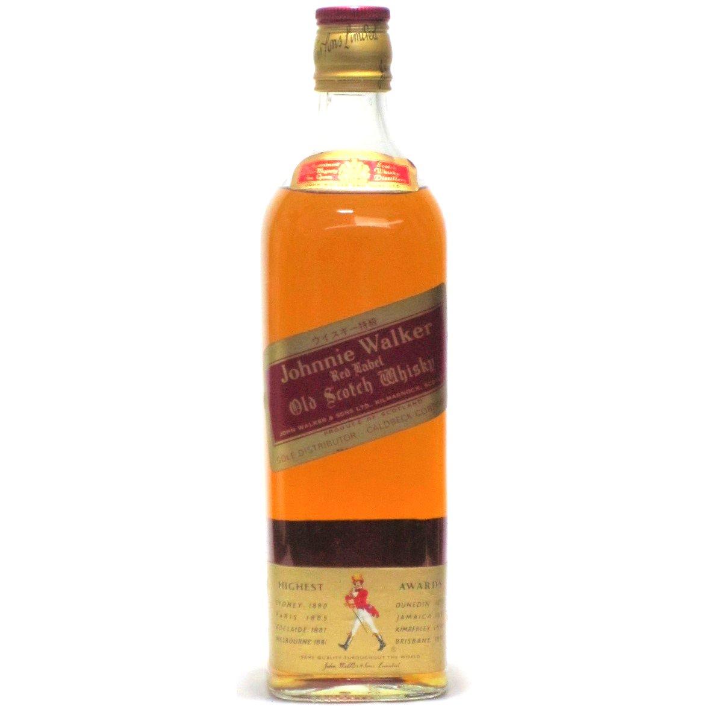 [古酒] ジョニーウォーカー レッドラベル 特級表示 正規品 43度 750ml