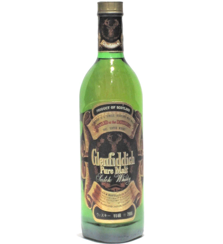 [古酒] グレンフィディック ピュアモルト 特級表示 正規品 43度 750ml