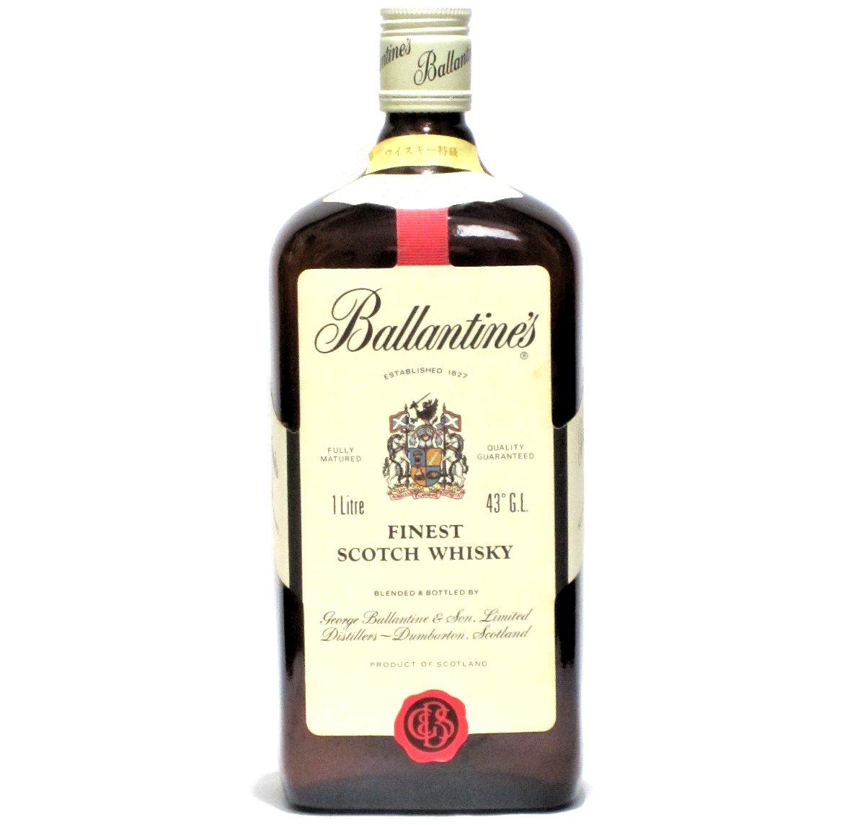 [古酒] バランタイン ファイネスト 正規品 特級表示 43度 1000ml (1L)